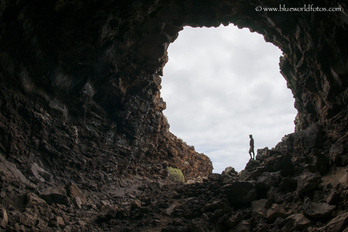 Puerta falsa… Jameos en el norte de Lanzarote