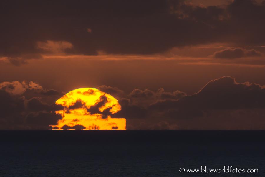 Lo mejor del día se oculta en el horizonte.